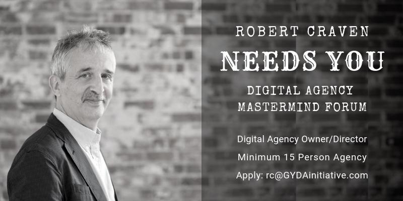 Robert needs you