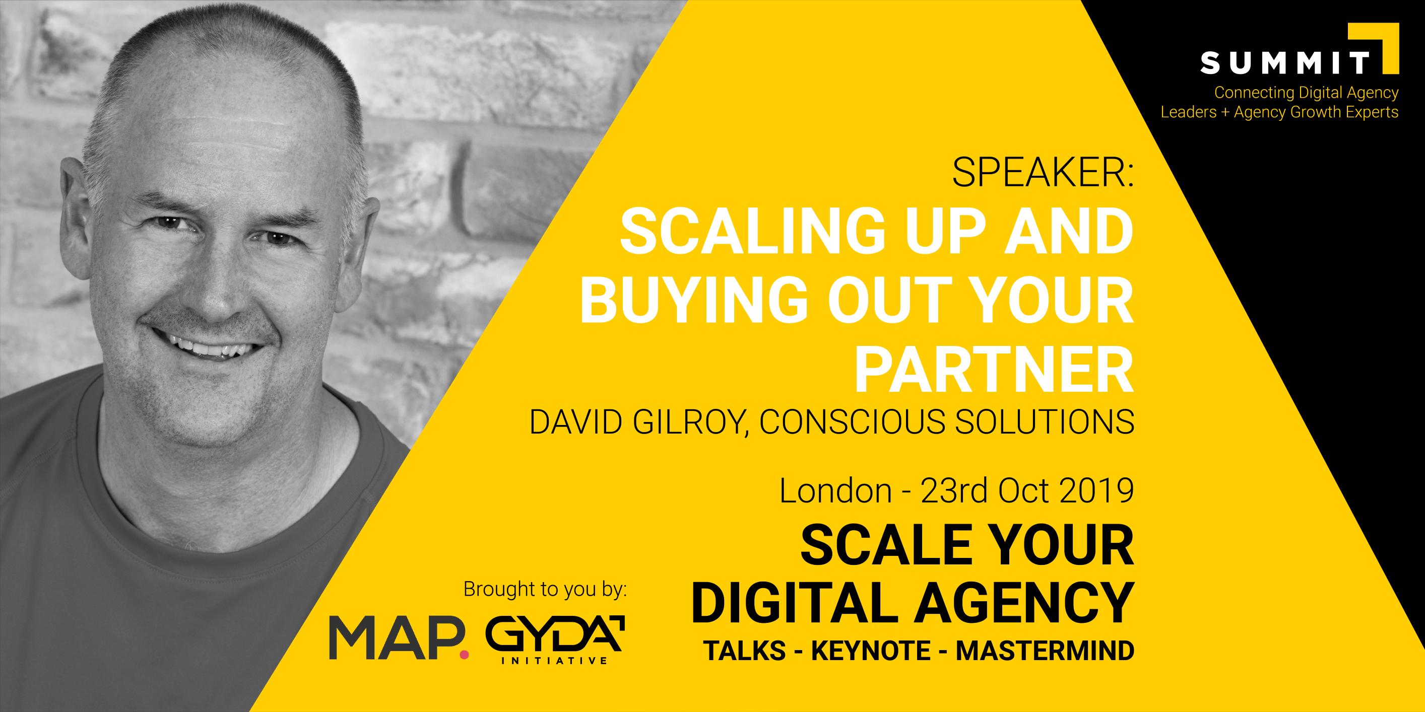 David Gilroy Speaker New